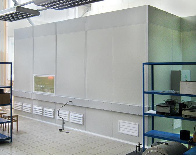 Чистая зона для микроэлектроники