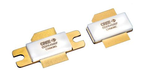 Компания CREE объявила  о выходе двух новых  GaN-транзисторов с высокой подвижностью электронов (HEMT)