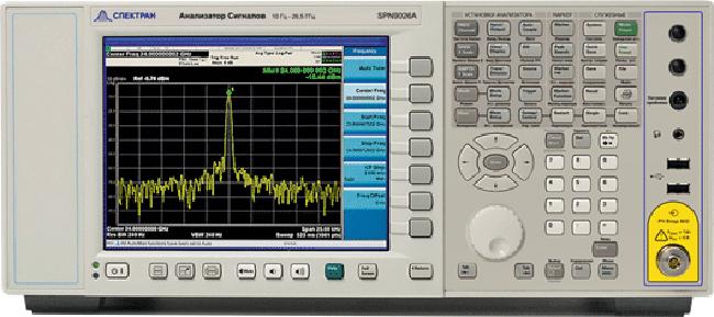 Новые анализаторы сигналов SPN9003A и SPN9026A от Keysight и Спектрана