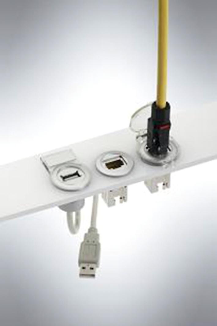 Сервисные интерфейсы для Ethernet и USB