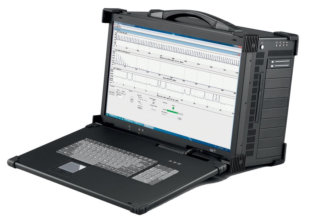 Система продолжительной и непрерывной регистрации записи высокочастотных сигналов