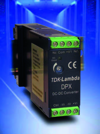 DC/DC-преобразователи средней мощности для монтажа на DIN-рейку