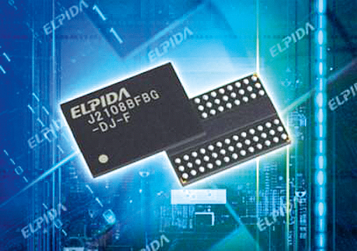 Elpida выпустила 25-нм DDR3-чипы