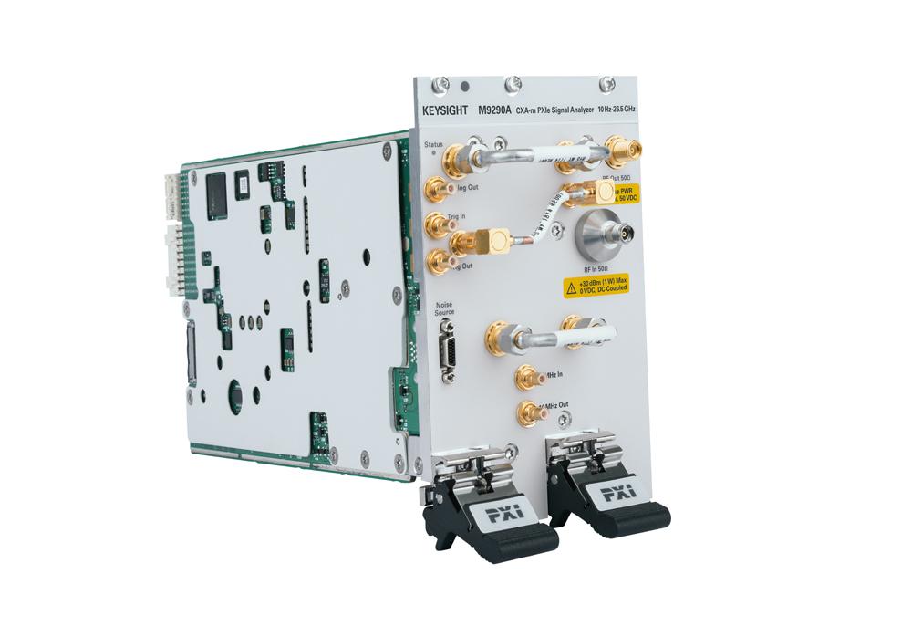 Первый анализатор сигналов с функциями свипирования и БПФ в формате PXI