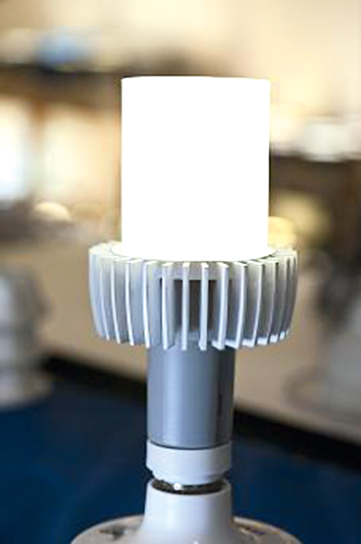 Базовое решение светодиодного светильника выдаёт 1300 люмен при 152 лм/Вт
