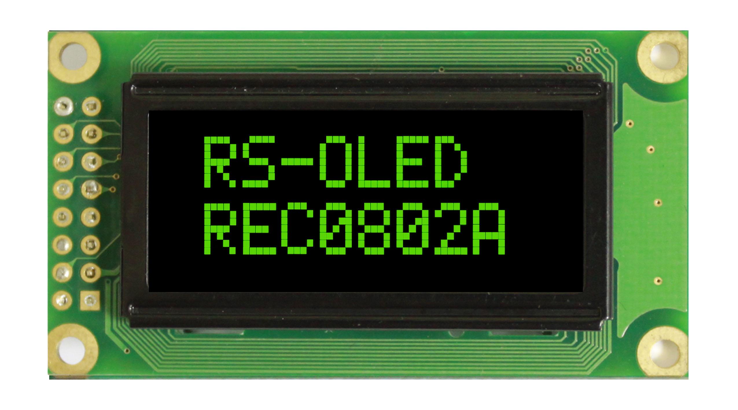 Знакосинтезирующие OLED-дисплеи от компании Raystar Optronics: достойная замена LCD-индикаторам