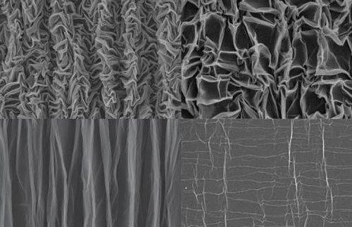 «Скомканный» графен – идеальный материал для изготовления гибких суперконденсаторов