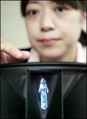 Hitachi представила лёгкий 3D-дисплей