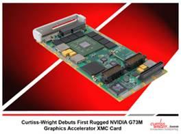 Curtiss-Wright XMC-710: видеоконтроллер на базе графического процессора NVIDIA G73M в формате XMC с интерфейсом PCI Express