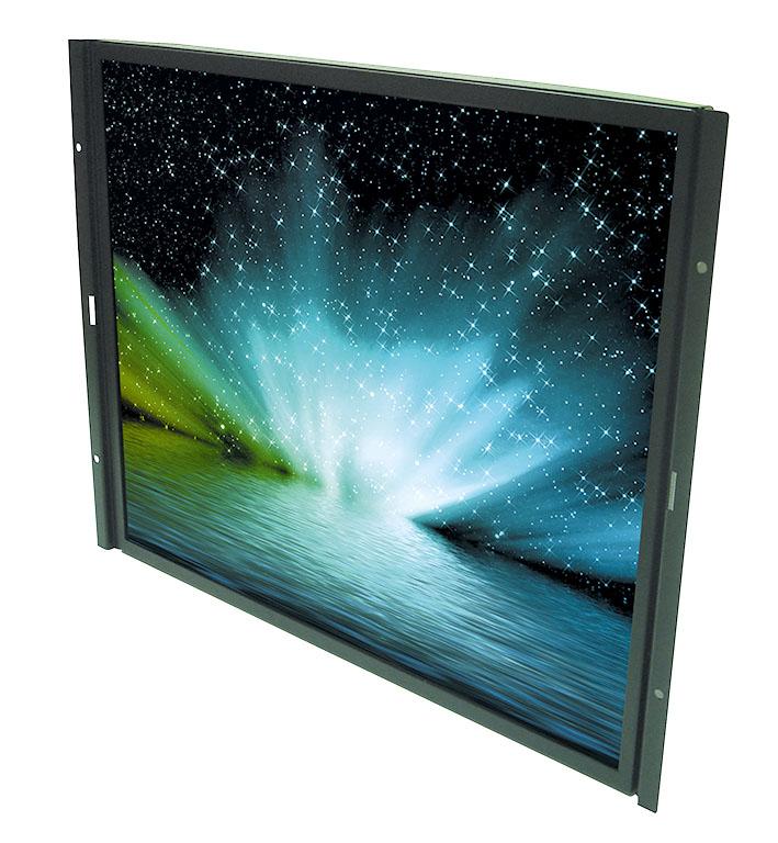 """Новые 17"""" TFT ЖК-дисплеи с форматом изображения SXGA и высокой яркостью свечения экрана"""