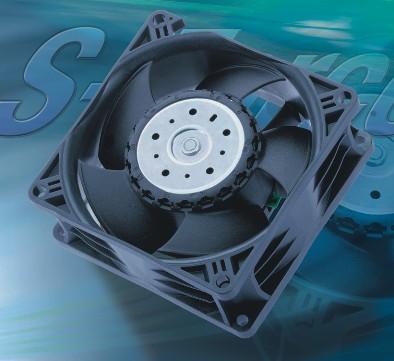 Осевые вентиляторы для приборов с высокой плотностью элементов