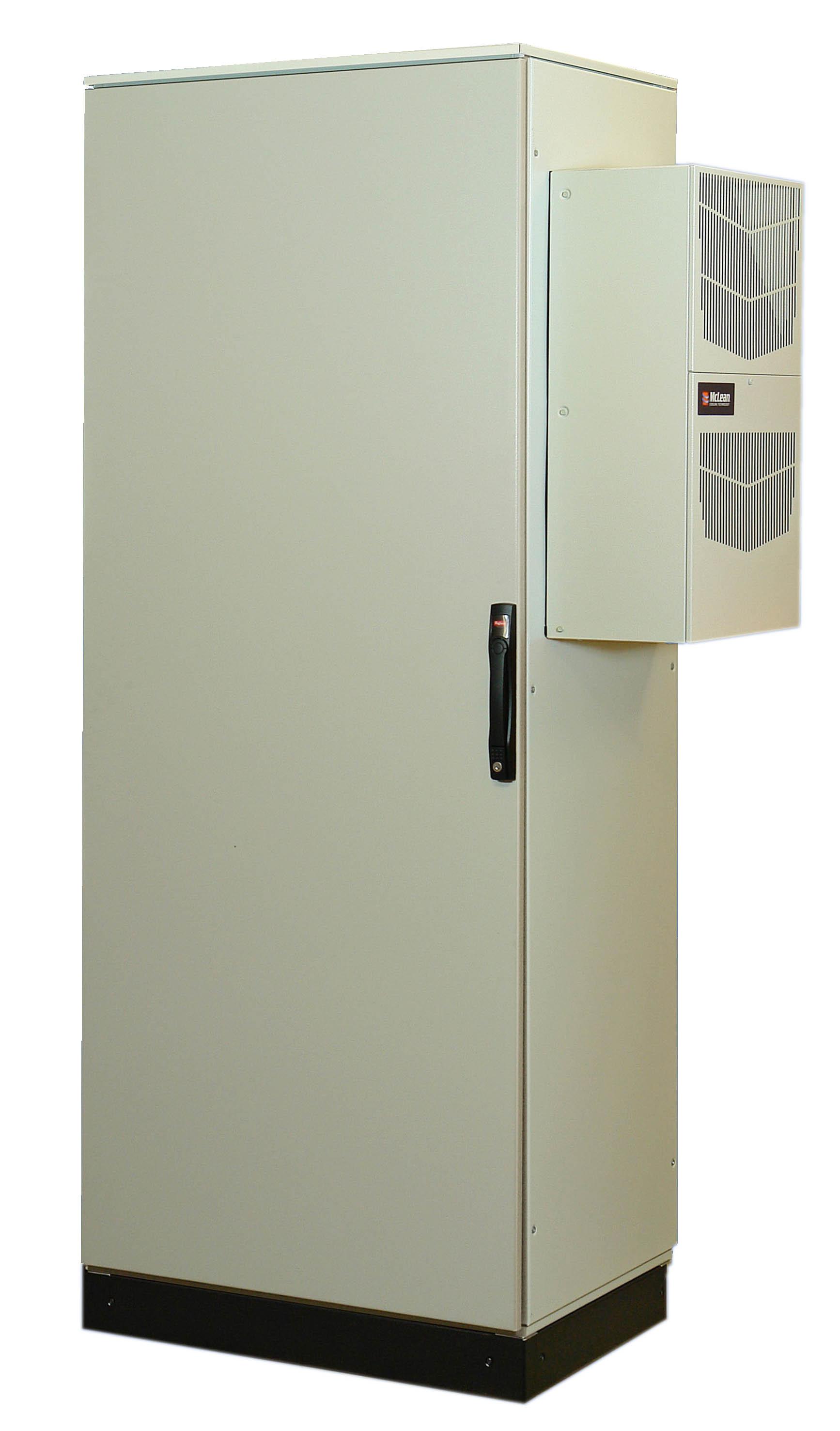 Универсальный промышленный шкаф со встроенной системой охлаждения