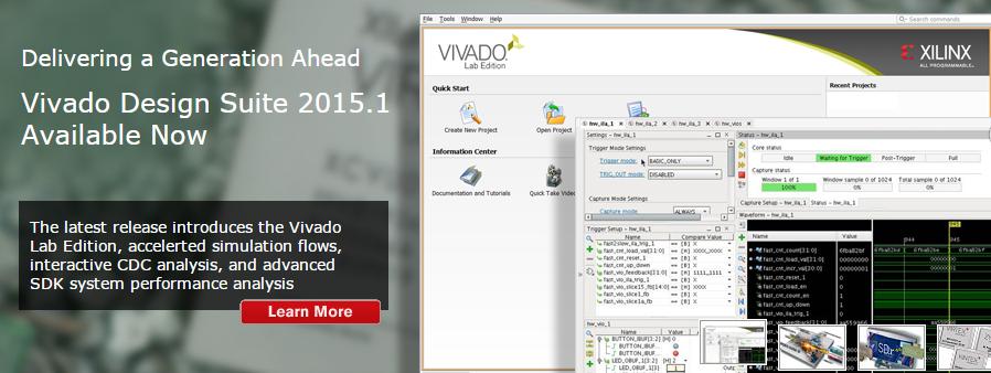 Вышла новая версия САПР Vivado Design Suite 2015.1