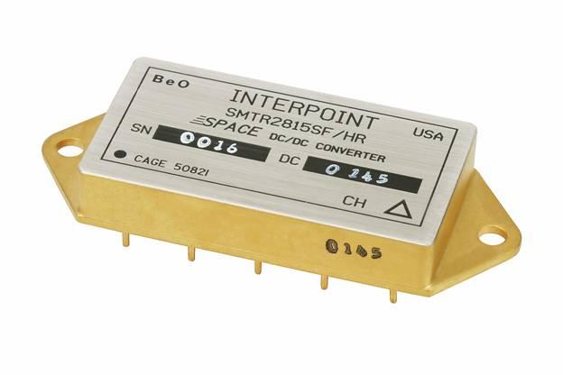 Радиационно-стойкие DC/DC-преобразователи с низкими выходными напряжениями от фирмы Interpoint