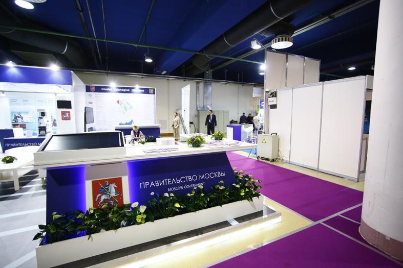 Экспозиция Правительства Москвы на международной выставке и конференции «Semicon Russia 2014»
