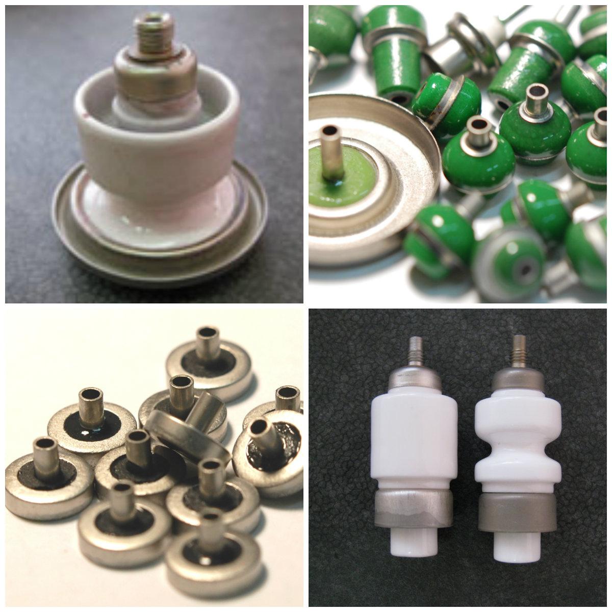 Гермовводы и проходные изоляторы для электронной аппаратуры и контактов конденсаторов