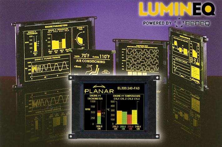 LUMINEQ – новое имя производителя электролюминесцентных дисплеев