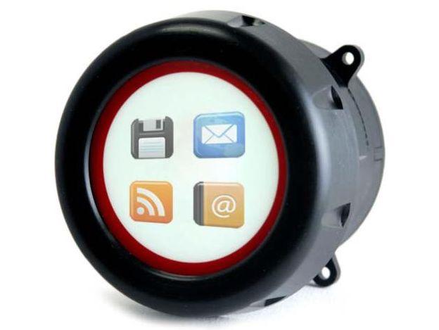 Энкодер MTRE (Multi-Touch Ring Encoder) с инстинктивной технологией распознавания жестов