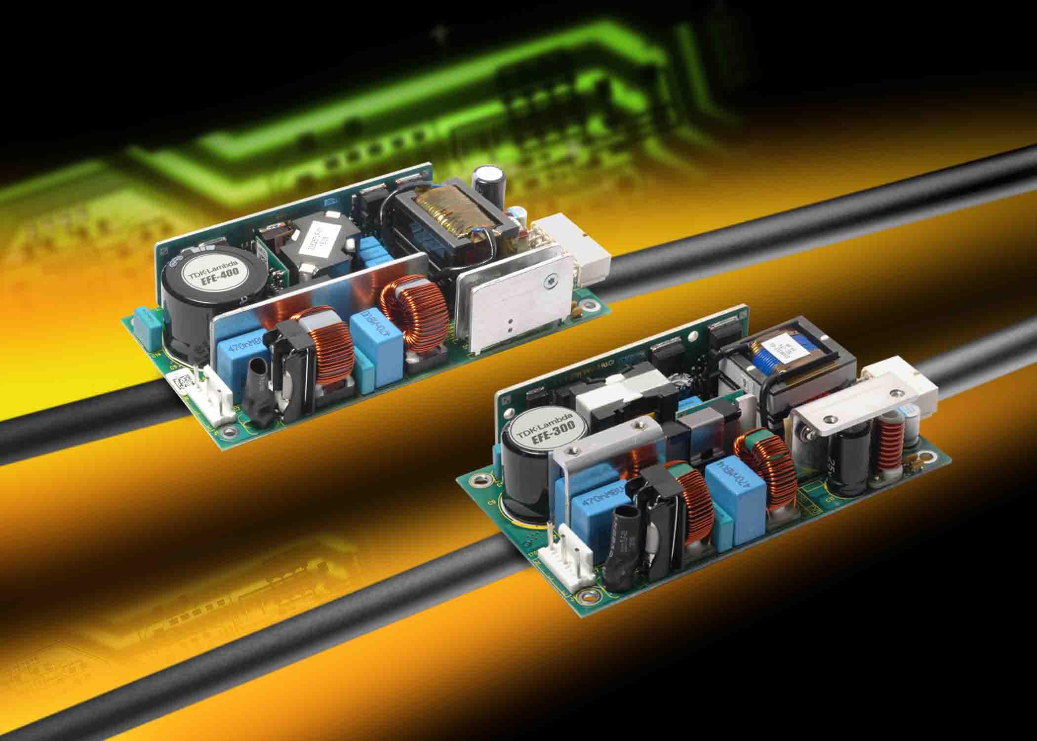 Революционная серия EFE источников питания AC/DC c цифровым управлением от компании TDK-Lambda