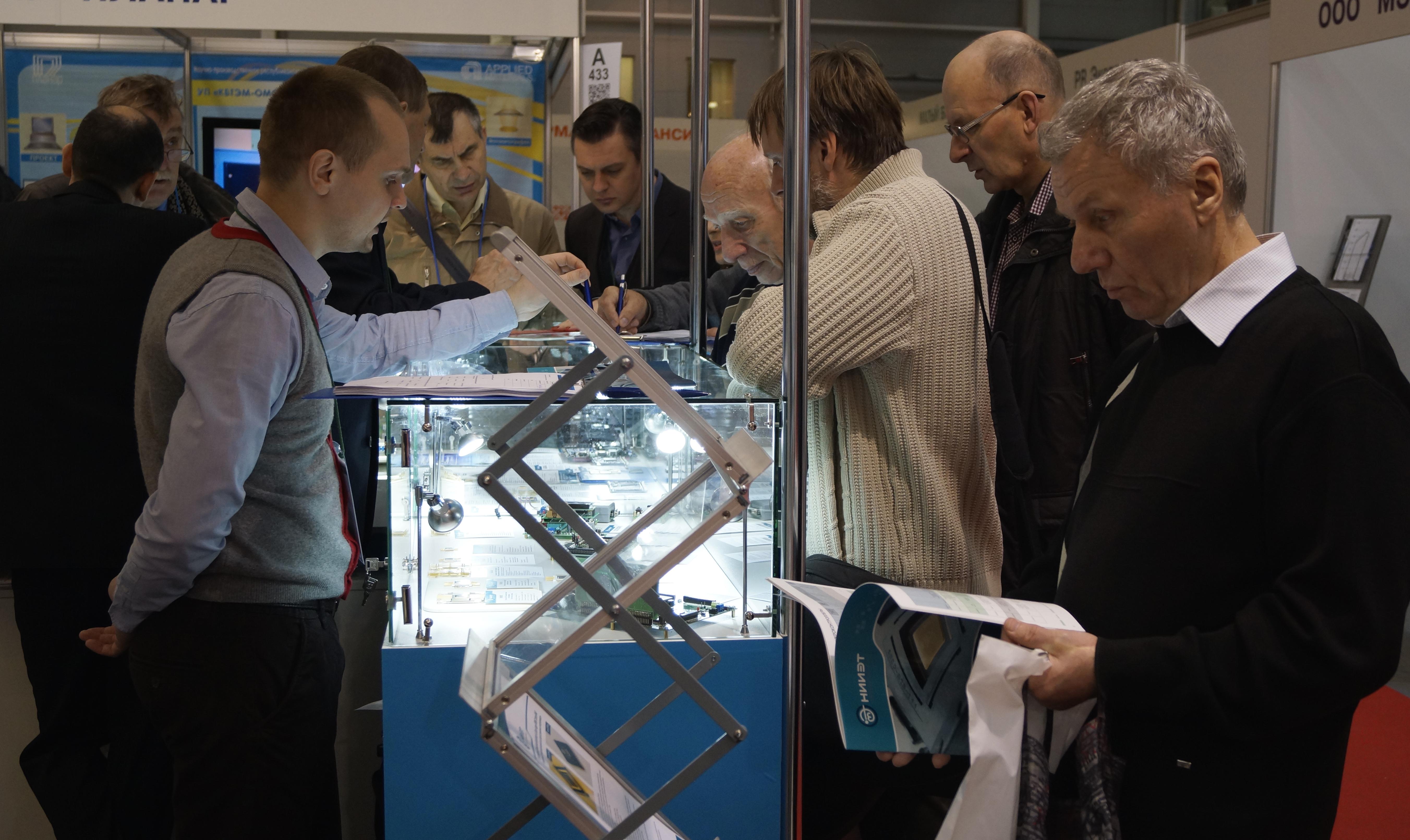 НИИЭТ представил новые разработки на «ЭкспоЭлектронике 2015»