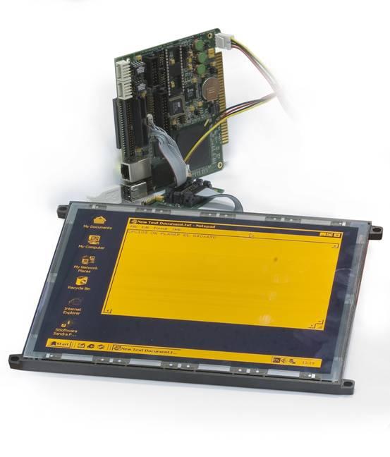 Плата LVDS-интерфейса для электролюминесцентных дисплеев
