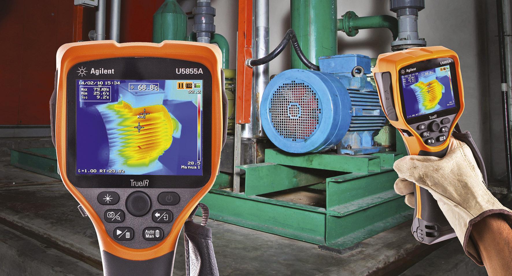 Ручной тепловизор и измерители сопротивления изоляции для профилактического обслуживания