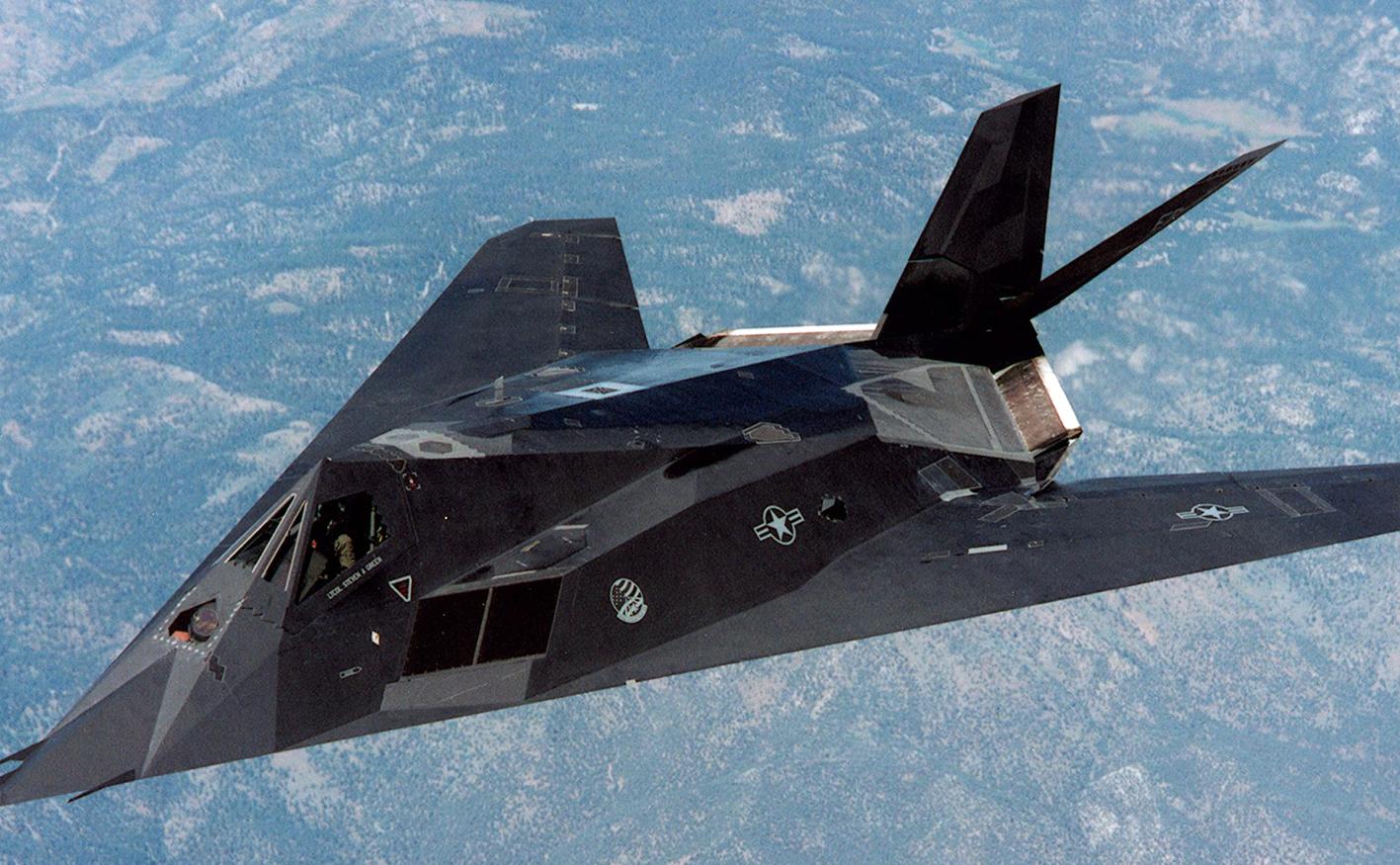 11 фактов об истребителе F-117
