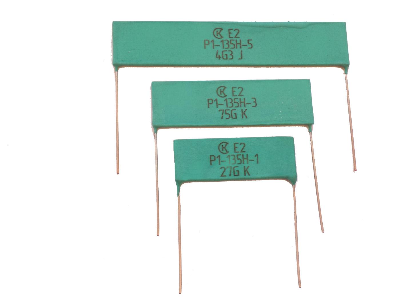 Новые резисторы типа Р1-135 и прецизионные делители типа НР1-77 до 40 кВ