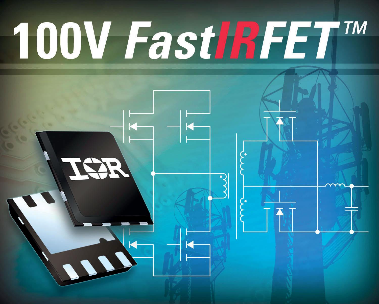 Силовой транзистор FastIRFET 100 В для телекоммуникационных ИП
