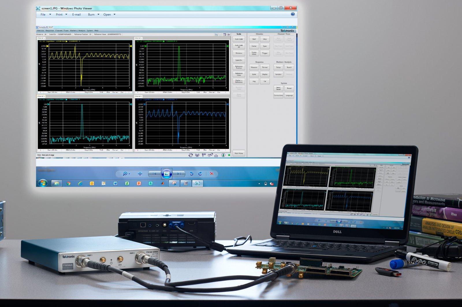 Tektronix выходит на рынок векторных анализаторов цепей