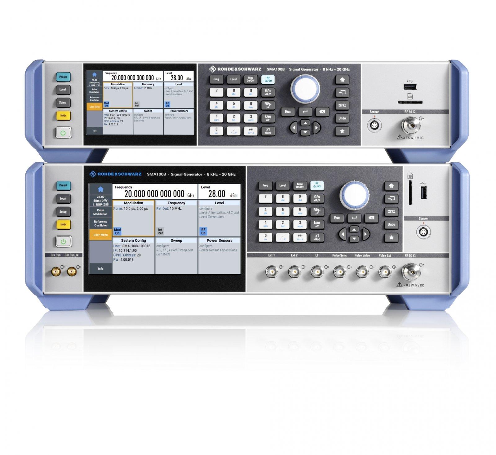 Генератор аналоговых ВЧ-и СВЧ-сигналов с лучшими характеристиками фазового шума и самой большой выходной мощностью