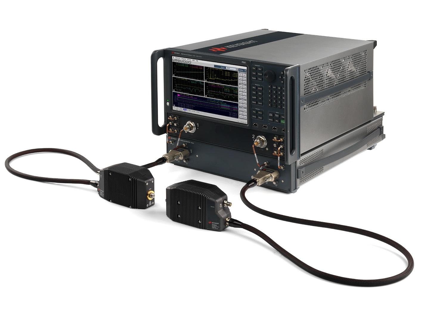 Автоматизированная система тестирования устройств СВЧ и миллиметрового диапазона до 120 ГГц