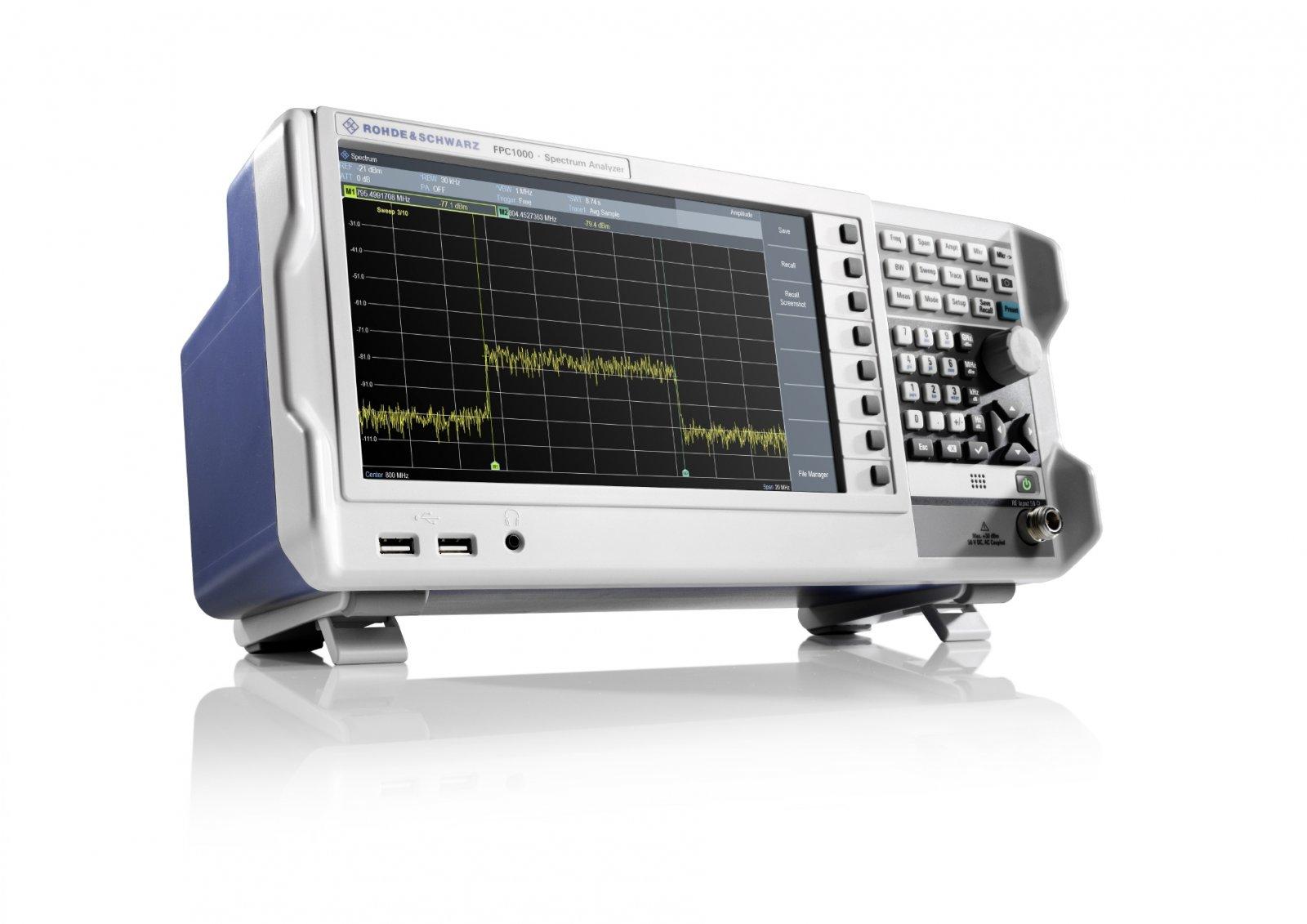Новый анализатор спектра начального класса R&S FPC1000