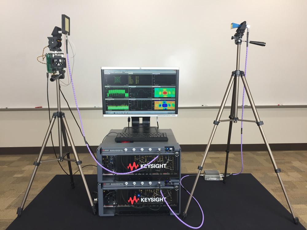 Keysight Technologies и Калифорнийский университет продемонстрировали самую быстродействующую в мире двунаправленную ФАР для 5G 28 ГГц