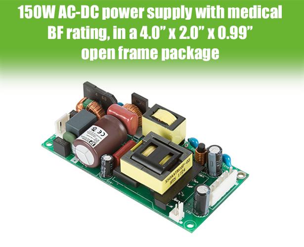 Компактные AC/DC серии EPL150 для IT-оборудования и медицинской аппаратуры