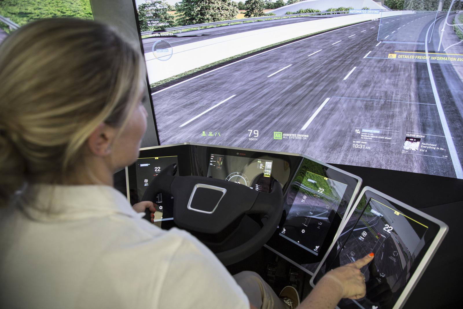 Концепт Bosch VisionX: какими будут грузовики в 2026 г.