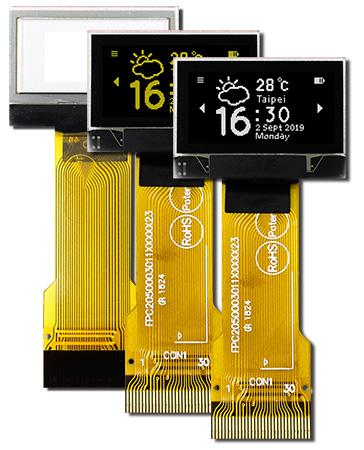 """Raystar Optronics, Inc предлагает графические пассивно-матричные OLED-дисплеи серии REX012864С-ZIF с размером диагонали 0,96"""""""