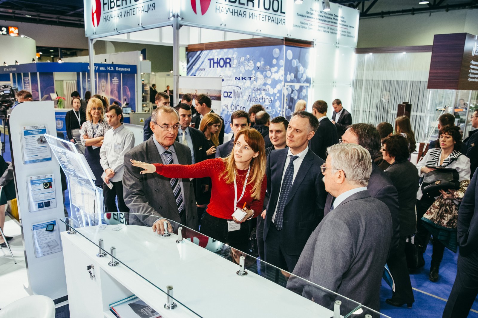 Выставка «Фотоника» получила поддержку Минпромторга России