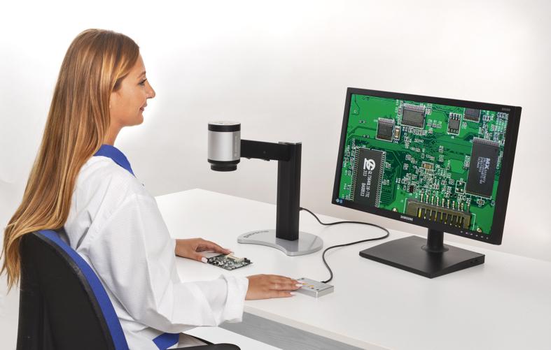 Цифровой микроскоп  для контроля качества изделий в формате HD
