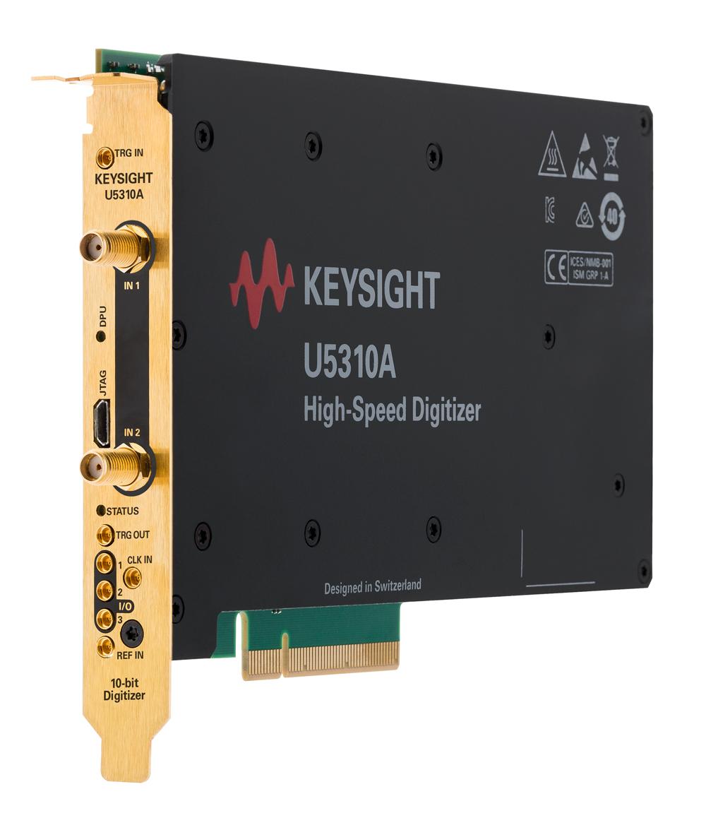 Уникальный высокоскоростной 10-разрядный дигитайзер от Keysight