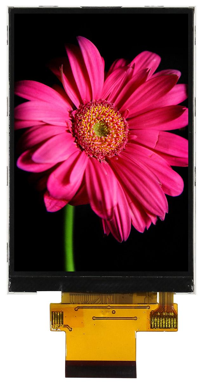 3,5-дюймовый цветной вертикальный дисплей TFT-LCD