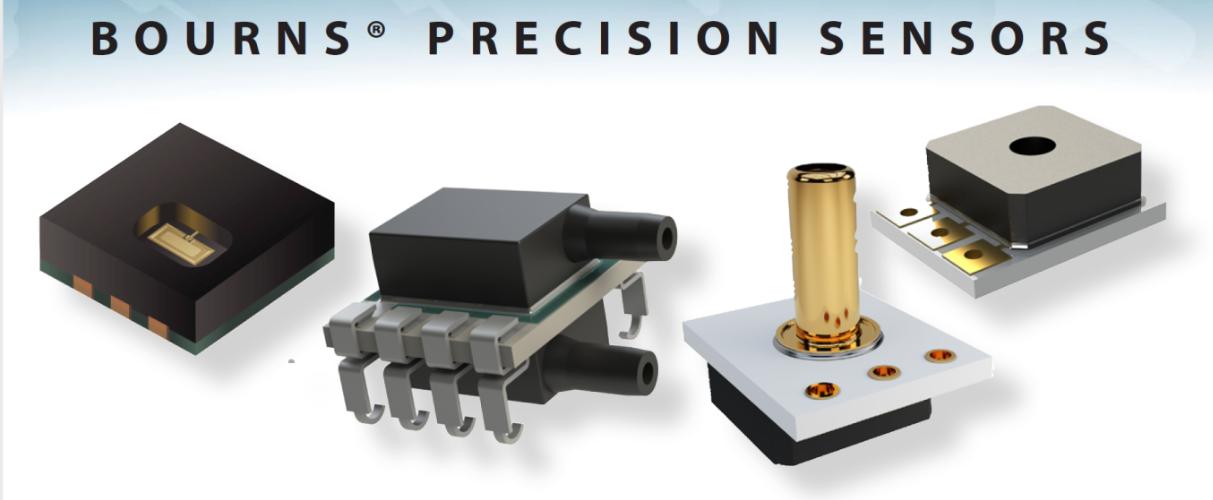 Прецизионные датчики давления и влажности BPS Bourns