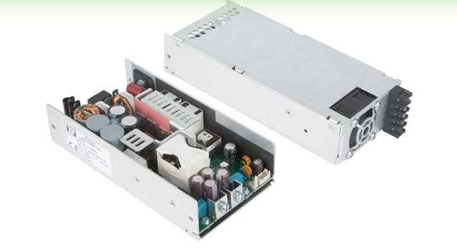 500 Вт AC/DC, сертифицированные для медицинского и IT-оборудования