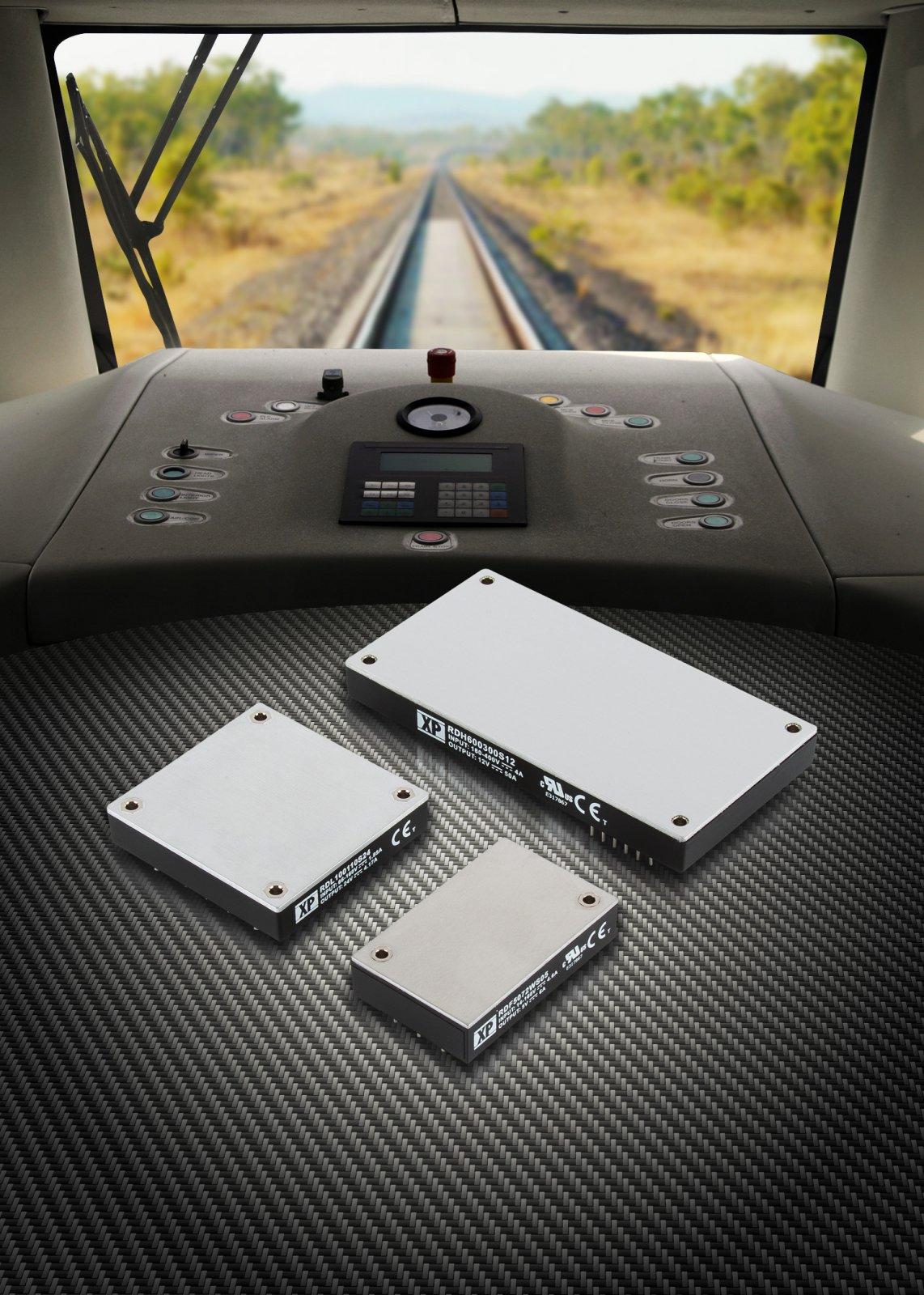 DC/DC-преобразователи от 50 до 600 Вт для аппаратуры железнодорожного транспорта
