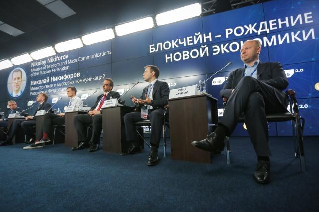 Николай Никифоров провёл ряд деловых встреч в рамках ПМЭФ