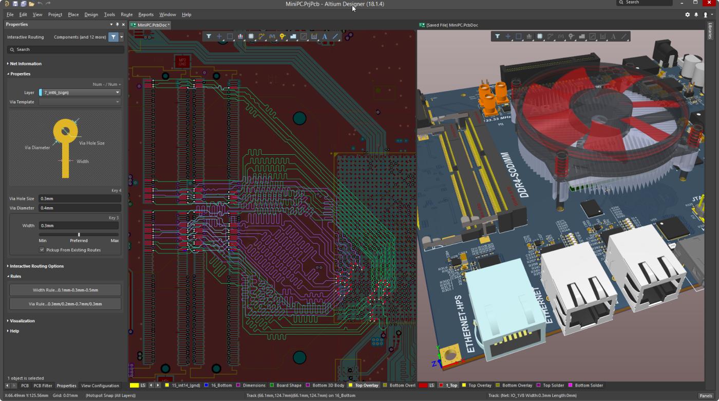 Altium Designer 19.1 реализует улучшения стабильности и производительности на основе отзывов пользователей