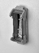 Установка с задней стороны с применением контактной вставки Han® ES Press в корпусе Han® 24B