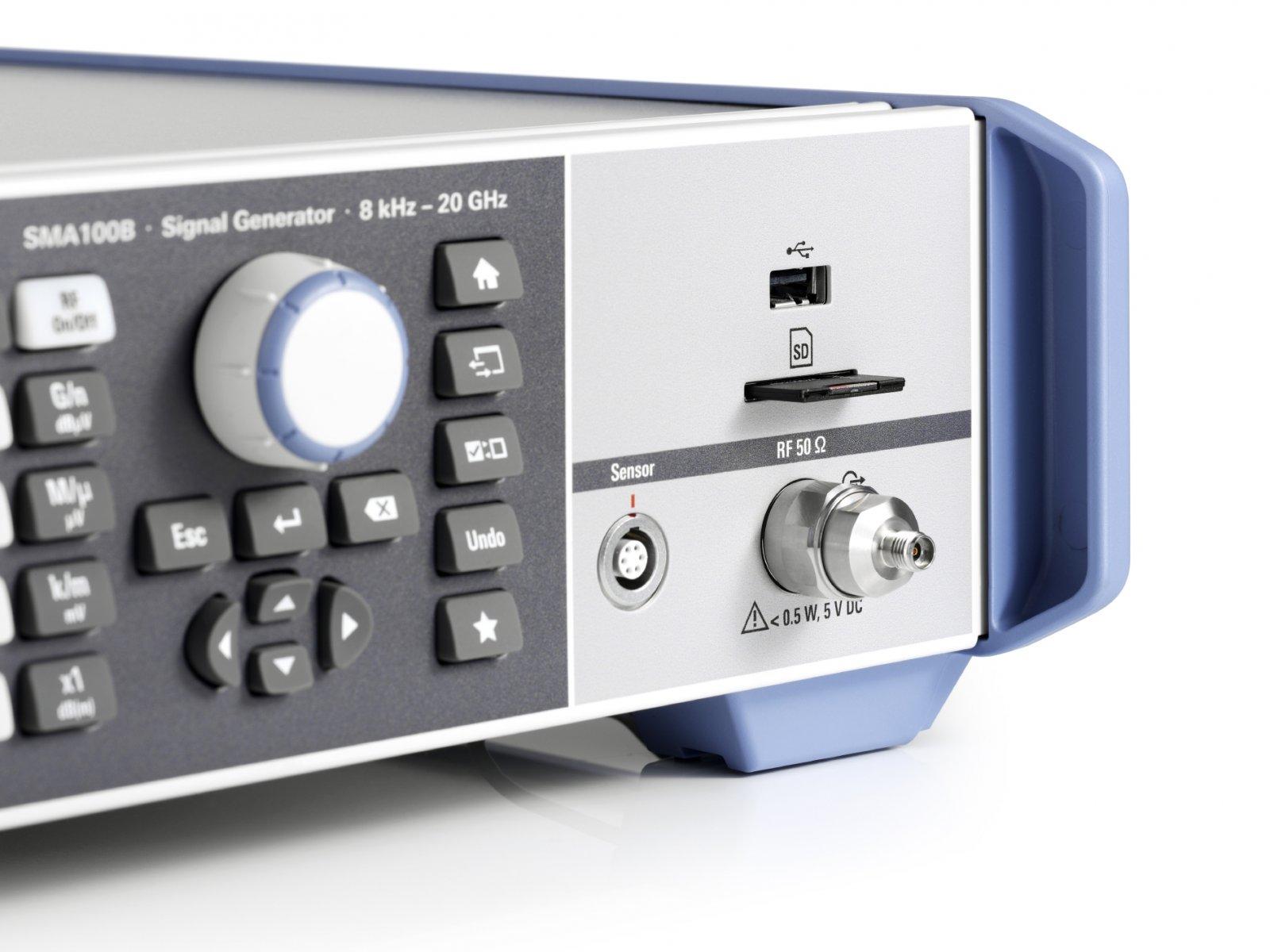Новый генератор аналоговых ВЧ- и СВЧ-сигналов Rohde & Schwarz