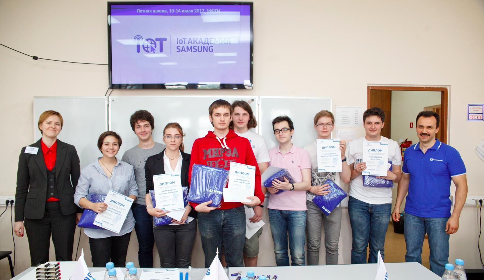 ИСП РАН и Samsung открывают IoT Академию в МФТИ