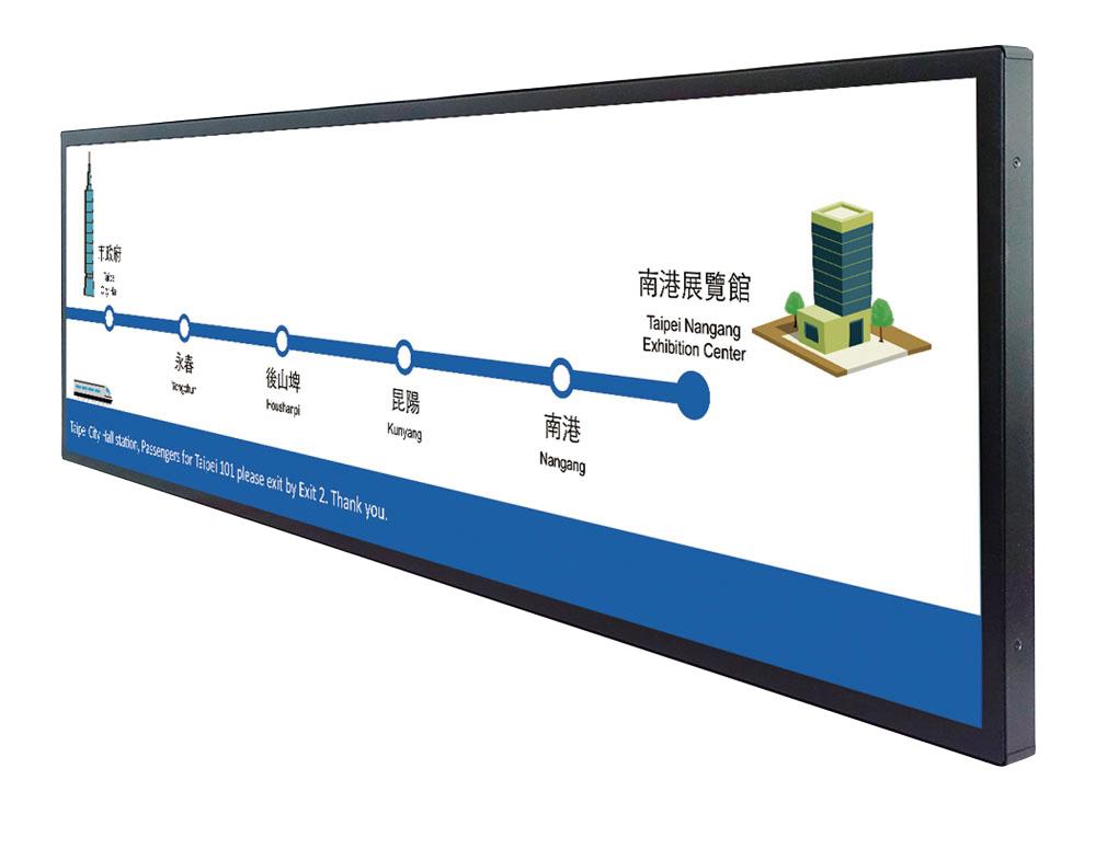 Самый большой в мире полосковый дисплей Spanpixel 5745-I от Litemax